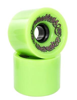 Mindless Voodoo Haraka Longboard Wheels, Green - 78mm X 55mm 78A