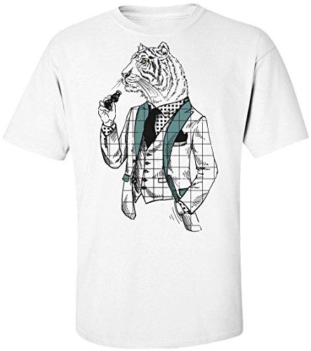 uxedo And Binoculars Männer Men's T-Shirt Large ()