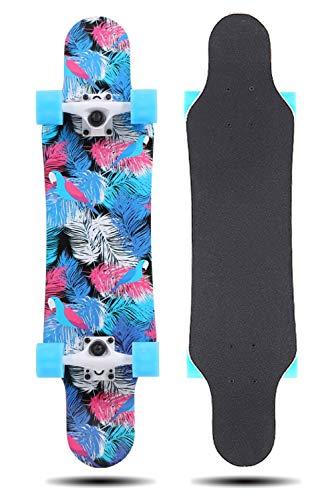 Grizzly-tool-box (Grist CC Skateboard Longboards Drop-Through Freeride Skaten Cruiser Boards Belastung 150 Kg für Anfänger und Profis)