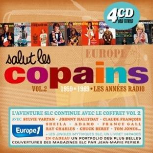 Salut Les Copains 1959-1969 : Les Années Radio /Vol.2 (Coffret 4 CD)