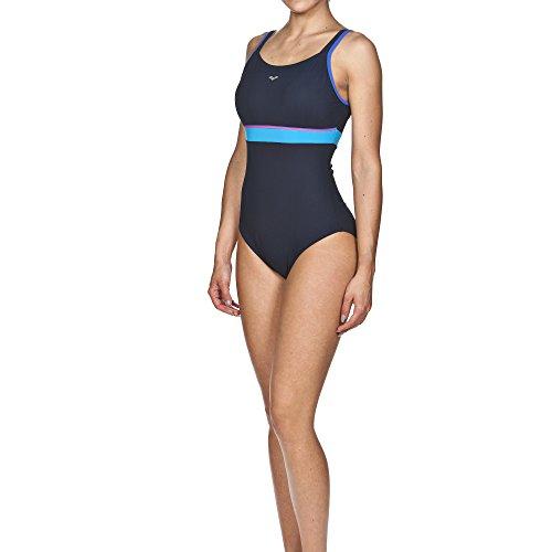 Arena costume da bagno da donna body lift Movy B-Cup Blu navy/Bright blue/Turquoise 44