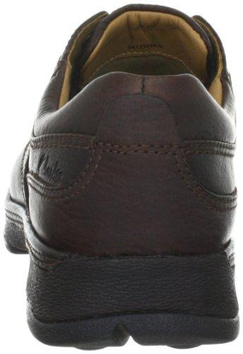Clarks Star Stride 203256208 Herren Casual Schnürer Braun (Brown Leather)