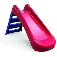RunRunToys - Tobogán plegable y robusto, color morado y rojo (8002)
