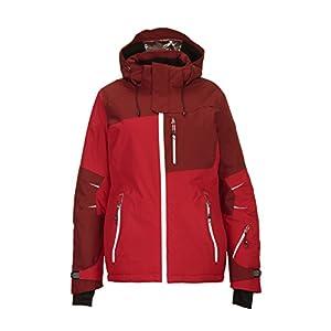 Killtec Damen Luira Skijacke / Snowboardjacke / Funktionsjacke mit abzippbarer Kapuze und Schneefang