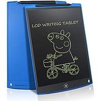 LCD Schreibtafel Grafiktabletts 12 Zoll mit 2 Magenete 1Stift Papierlos Wiederverwendbar Schreiben Malen Notizen zu Hause Büro Supermarkt usw (Grün) (Blau)