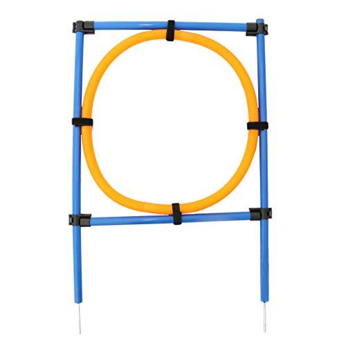 perfk Agility Ausrüstung Sprung Ring Hürde für Hundetraining und Hundesport