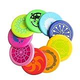 EQLEF Schiuma Flying disks Kids, Soft PU Schiuma Frisbee Disc Outdoor Sports Parco Giochi Kindergarten per Bambini Colore Casuale - 1 Pezzo