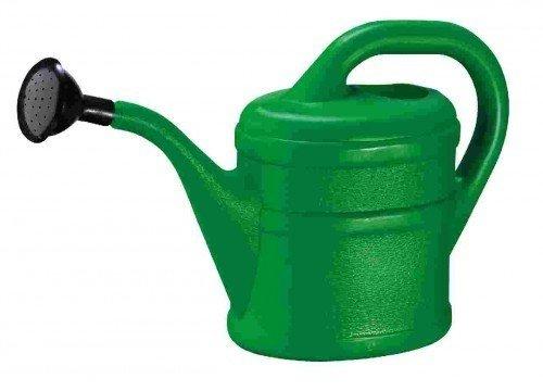 Gießkanne Inhalt 2 Liter aus Kunststoff, rot - 2