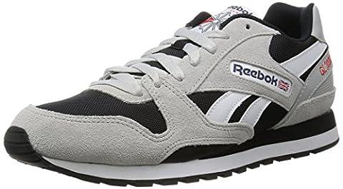 Reebok Men Gl 3000 Low-Top Sneakers, Multicolor (Skull Grey/Black/Blue Ink/Riot