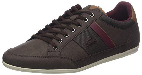Lacoste Herren Chaymon 318 2 Cam Sneaker, Braun (Dk BRW/BRW 2e2), 46 EU