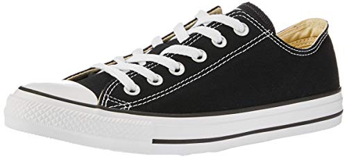 Converse Unisex-Erwachsene Chuck Taylor All Star-Ox Low-Top Sneakers, Schwarz (Black), 39.5 EU