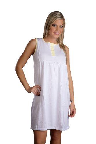 hering-womens-sleeveless-nightie-style-7631-yellow-xl
