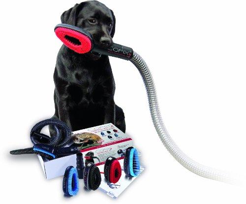 Cofix Hundebürste in Verbindung mit dem Staubsauger 4-er Kombi Kit mit 4 Bürstenaufsätzen nach Wahl