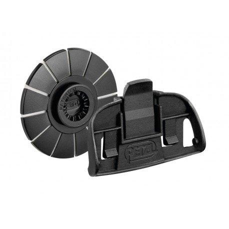 Grillen Kit (Petzl E93001KIT ADAPT-System/Befestigungssystem zum Anbringen einer TIKKA-Stirnlampe an einem Helm)