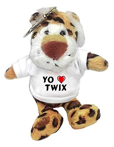 leopardo-de-peluche-llavero-con-amo-twix-en-la-camiseta-nombre-de-pila-apellido-apodo