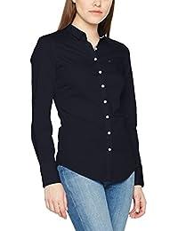 Hilfiger Denim Thdw Basic Stretch Shirt L/S 1, Blouse Femme