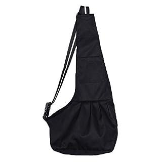 Pet Travel Carrier Bag Dog Cat Sling Backpack Carrier Single Shoulder Bag Travel Puppy Kitty Rabbit Pouch Shoulder Carry Tote Handbag For Outdoor 41Z6DpEg8LL