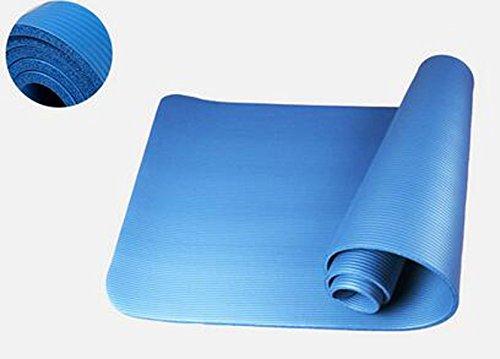 Kinder Pilates Matte Erweiterung 80cm Yoga-Matte Isomatte Kriechende Matte Fitness-Matte Außenhandel,Blue