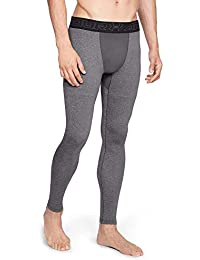 Under Armour Coldgear Leggings, Hombre, Gris, M