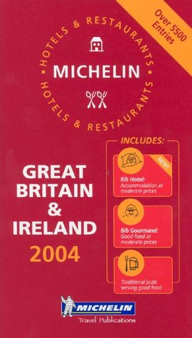 Michelin 2004 Red Guide Great Britain & Ireland