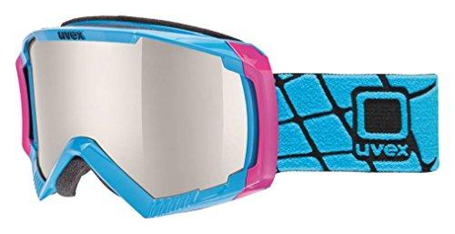 Uvex, Maschera da sci Apache 2, Rosa (Pink/Cobalt), Taglia unica