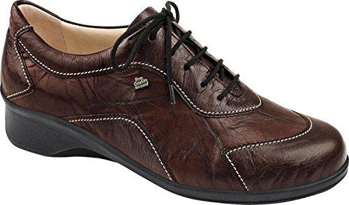 FinnComfort SAVANNAH 3573900917 femmes Chaussures à lacets Brun