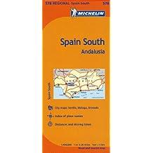 Michelin Spain: Andalucia Map 578 (Maps/Regional (Michelin))