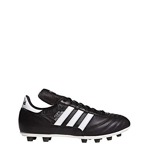 adidas - Kaiser 5, Herren Fußballschuhe,Schwarz (Black/Running White Ftw), 45 1/3 EU