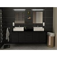 Amazon.fr : salle de bain double vasque noir : Cuisine & Maison