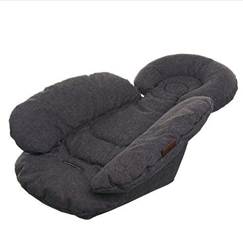 ABC Design 91323702Comfort Seat Liner Salsa Zoom Street Füllung für Kindersitz, grau