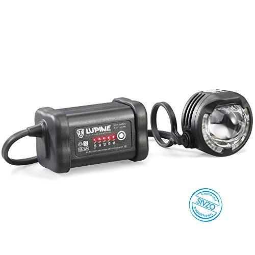 Lupine SL A7 SmartCore Lampe 31,8mm mit Wiesel Ladegerät 2018 Fahrradbeleuchtung