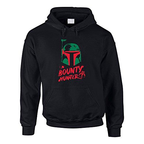 erren Hoodie - Boba Fett - Bounty Hunter schwarz-dunkelgrün XL ()
