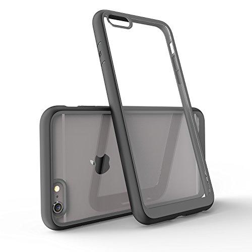 FNBK iPhone 6 Plus iPhone 6s Plus Hülle mit stylischem Rand weiches Silikon TPU Gel Bumper Case Schwarz