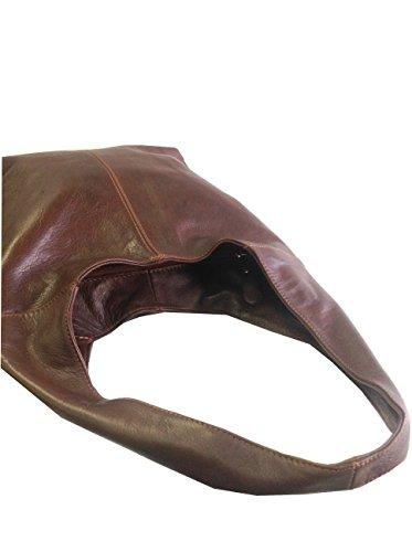 Chestnut Brown Soft Italian Leather Handbag, Shoulder Bag or Slouch Bag  - 41Z6JQRj9HL - Chestnut-Brown-Soft-Italian-Leather-Handbag-Shoulder-Bag-or-Slouch-Bag