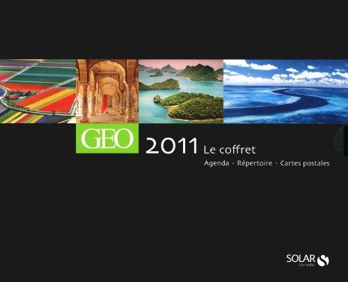 Coffret Agenda Géo 2011 par Collectif