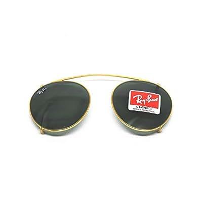 Ray-Ban - ROUND RX 2180V, Rotondo, metallo, uomo, GOLD/GREY(2500/71), 47/21/0