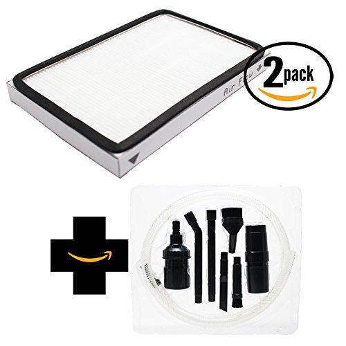 2-pack replacement Kenmore 20-86889sacchetti filtro HEPA con 7-piece micro Vacuum Attachment kit-compatibile Kenmore 86889, filtro HEPA ef-1