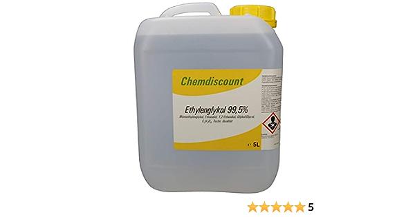5 Liter Glykol Mind 99 5 Monoethylenglykol Ethylenglykol Konzentrat Versandkostenfrei Auto