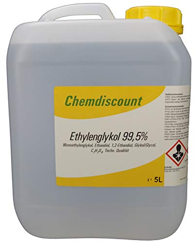 Preisvergleich Produktbild 5 Liter Glykol mind. 99, 5%,  Monoethylenglykol,  Ethylenglykol,  Konzentrat,  versandkostenfrei!