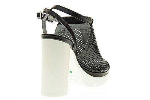 NERO GIARDINI chaussures sandales P717760D / 100 Black