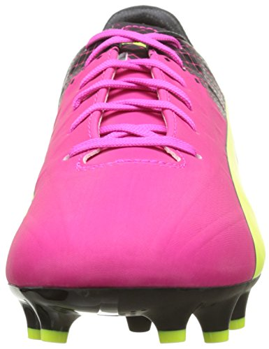 Puma Evospeed 4.5 Tricks Fg Herren Fußballschuhe Pink (pink glo-safety yellow-black 01)