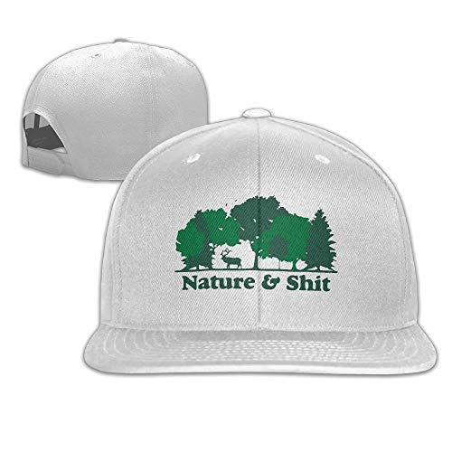 Koch Fitted T-shirt (fgstrt Nature and Shit Unisex Causal Fitted Flat Bill Boarder Hat for Men and Women)