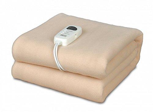 elektrische Heizdecke mit Abschaltautomatik 100% Vlies Waschbar Wärmeunterbett Wärmedecke Heizmatte 1 - 8 Stunden Timer