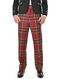 Hommes écossais Rot Royal Stewart Tartan Pantalon