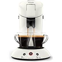 Philips Cafetera Senseo New Original, Elección de crema Plus, grosor de café, color negro Weiß