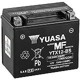 YUASA BATERIA YTX12-BS AGM abierto - con paquete de ácido