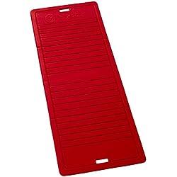 Sveltus Tapis pliable rouge