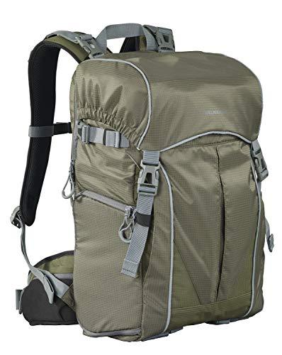 CULLMANN ULTRALIGHT 2in1 Daypack 600+ Foto-/Wanderrucksack mit Schultertasche, Innenmaß Kamerafach 240x190x120mm, olivgrün