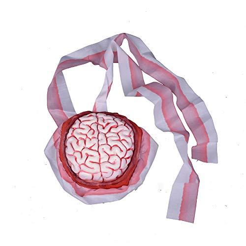 mi ji Decoración de Halloween de Miedo Halloween Horror Juguete Cerebro Cerebro Diadema para Niños Niñas decoración de Halloween 1 PC para Halloween