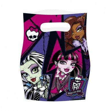 amscan Monster High 2 Party Taschen (6-teilig)